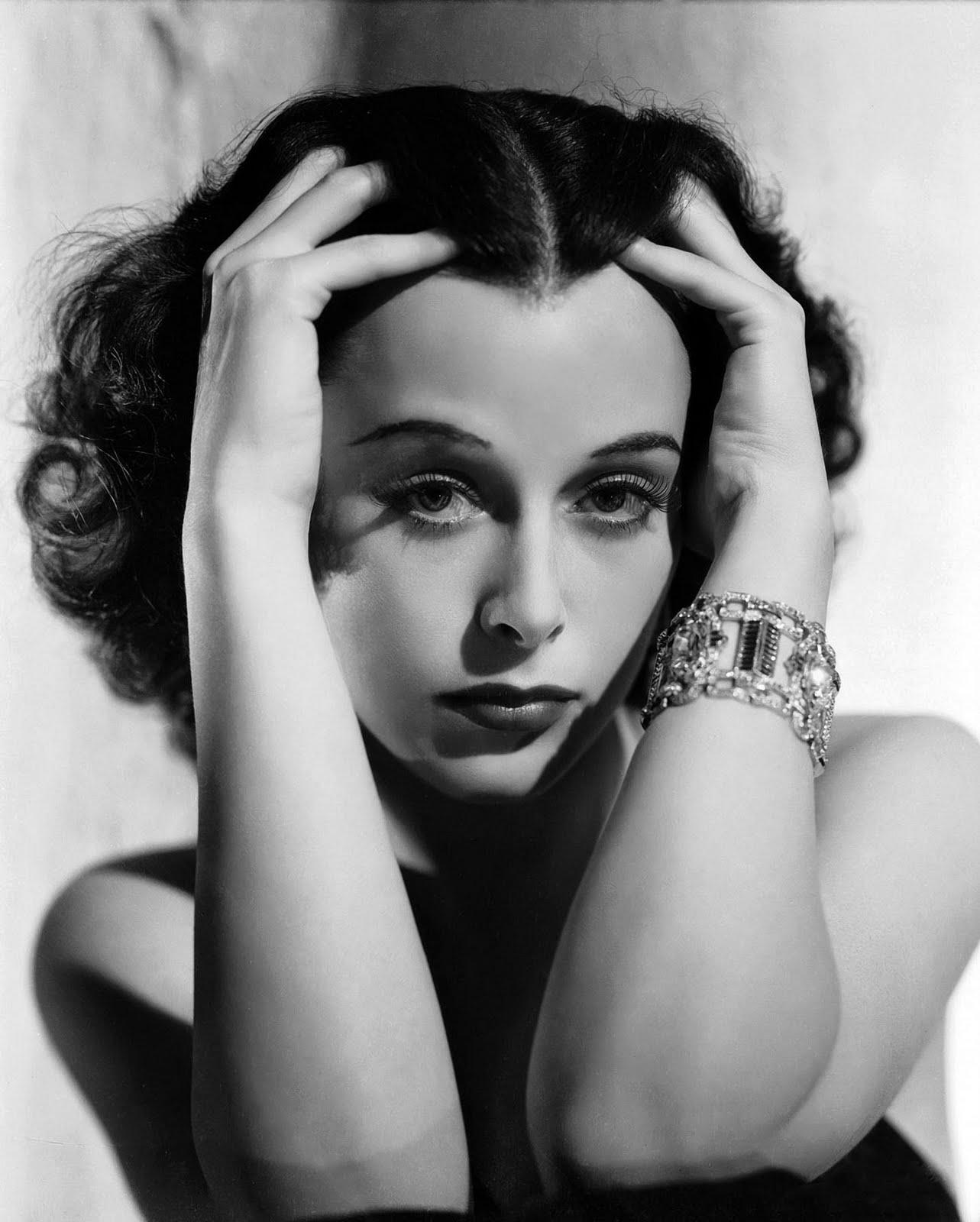 Hedy Lamarr couple
